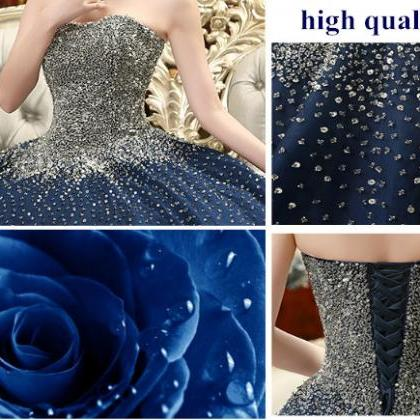 Prom Dress Prom Dresses Sparkling P..