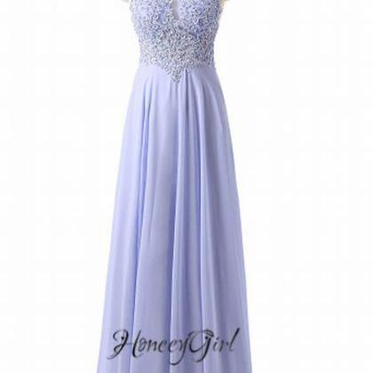 Long Prom Dresses Beaded Prom Dress..