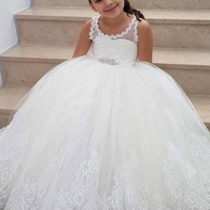 Flower Girls Dress For Weddings Lac..