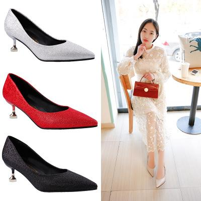 2019 Women Poined Toe Women Pumps F..