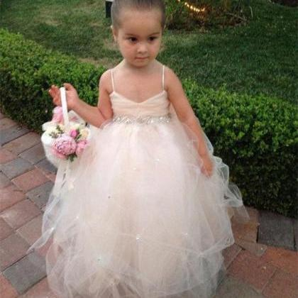 Formal Floor Length Flower Girl Dre..