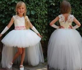 Hi-Lo Princess Gowns..
