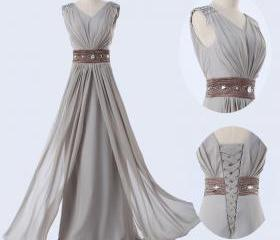 Bridesmaid Dress V N..