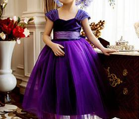 Formal Purple Flower..