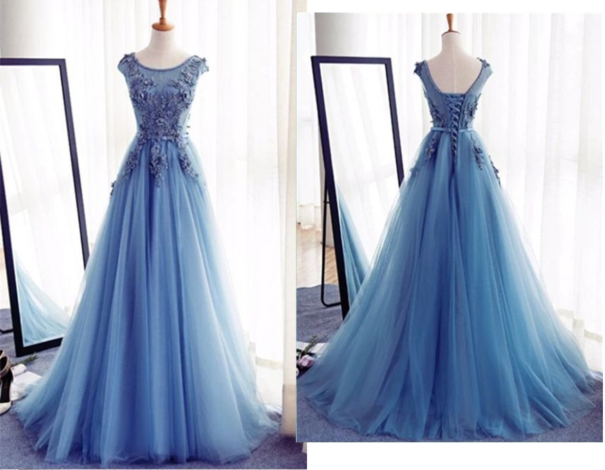 3acf16224a4 Charming Tulle Handmade Prom Dress Long Prom Dresses Prom Dresses Evening  Dress Prom Gowns Formal Women Dress prom dress