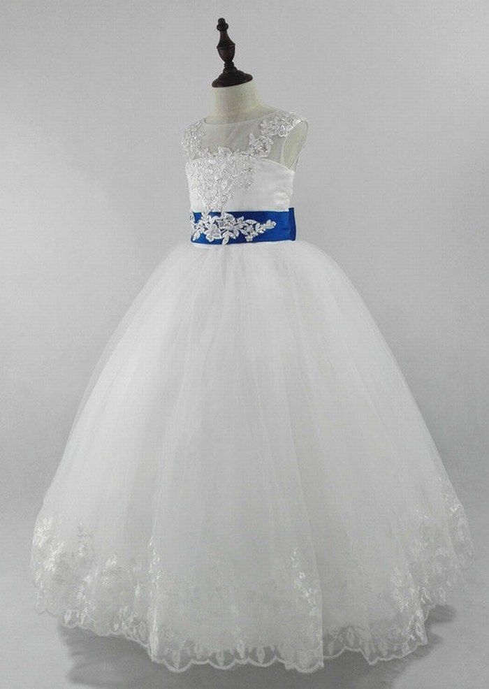 Flower Girl Dresses for Wedding Communion Prom Birthday BallGown Party Princess ytz323 (1)