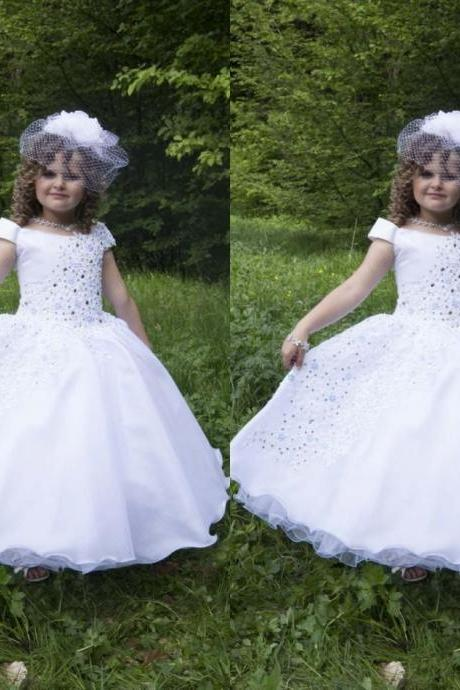 Princess Gowns Christmas Birthday Party Christmas Dresses Children Girl Flower Girl Dress 77