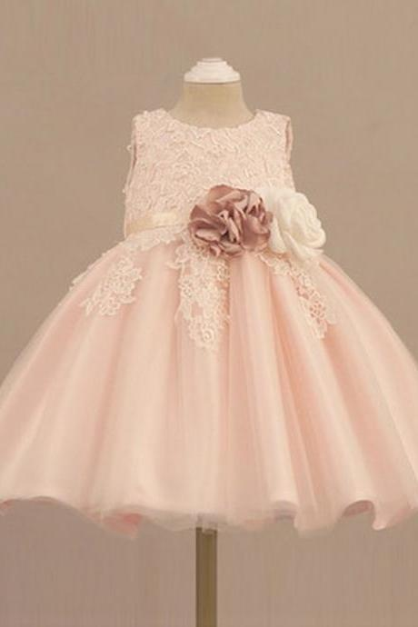 Formal Baby Girl Birthday Wedding Party Flower Girls Dress baby Pageant dresses 184