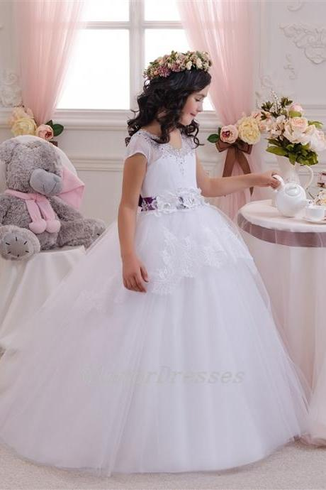Cute Baby Girl Birthday Wedding Party Formal Flower Girls Dress baby Pageant dresses 210