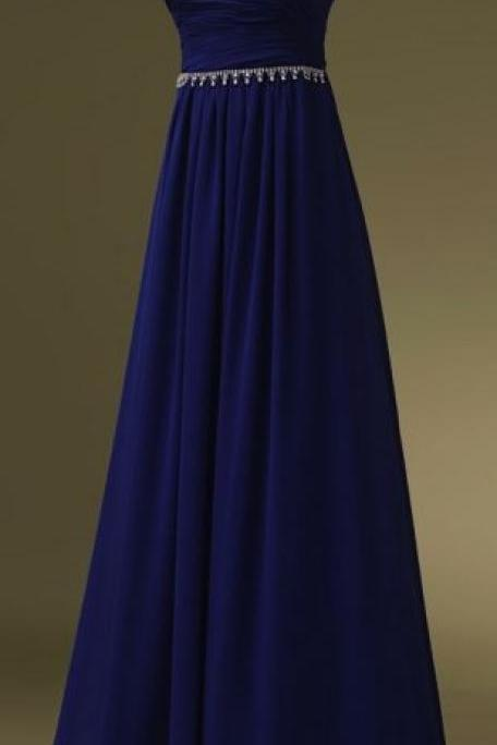 Charming Prom Dress A-line Prom Dress Chiffon Prom Dress Strapless Prom Dress Sexy Prom Dress