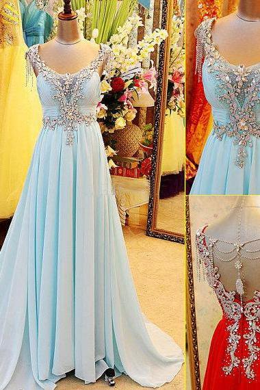 Zipper Sequins Chiffon Chapel Train Weddings Cocktail Dress Prom Dress Bridesmaid Gown Hot Sale Gown w501