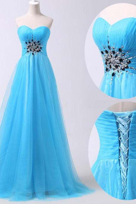 Bridesmaid Dress Long Beading Evening Dress Prom Dress Custom Made Bridal Party Dress xz112