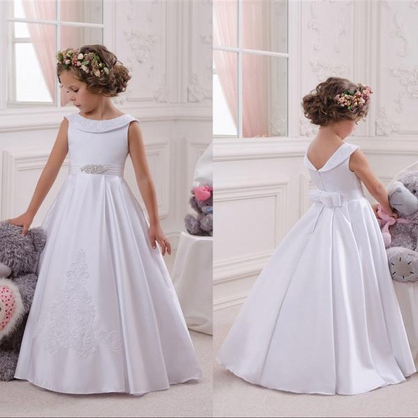 Flower Girl Dress Communion Pageant Wedding Easter Graduation Bridesmaid Dresses 81