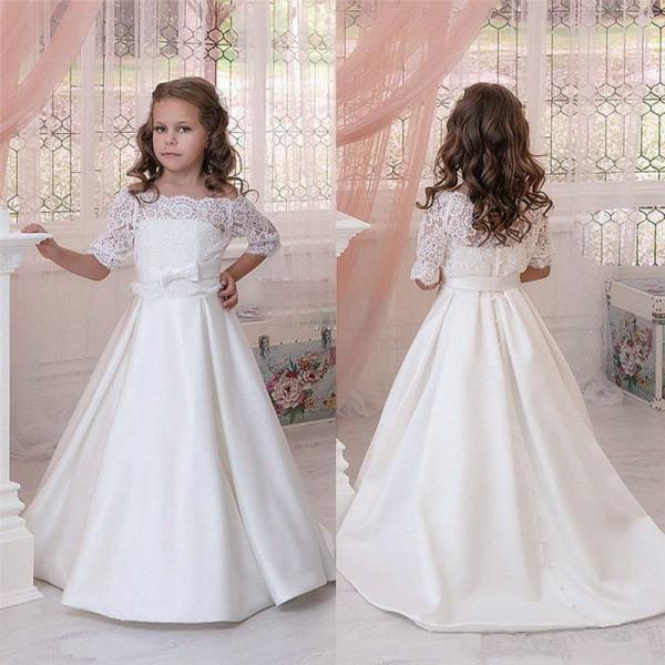 Communion Party Prom Princess Pageant Bridesmaid Wedding Flower Girl Dress 108