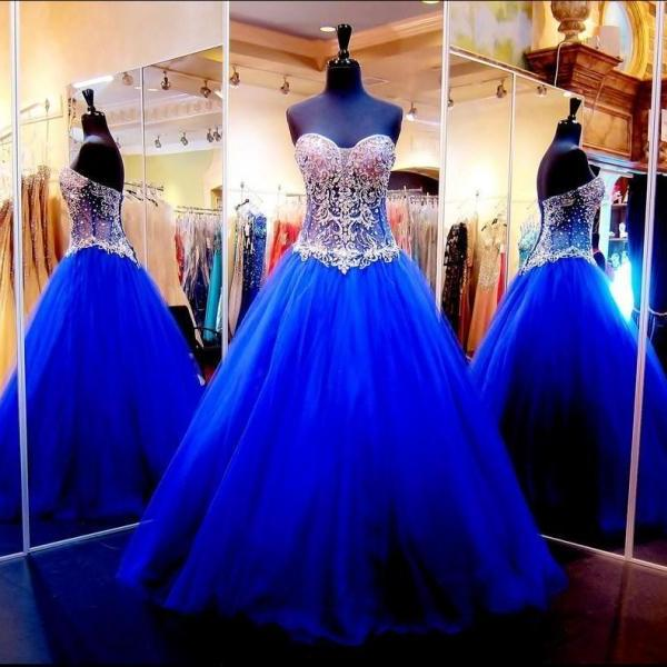 New Quinceanera Dress Formal Prom Pageant Party Ball Gown Wedding Dress Custom