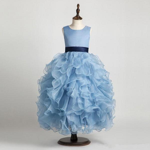 new princess birthday pageant gown flower girl dresses